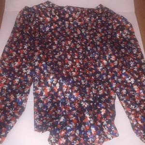 Tops - FloweryBlouse